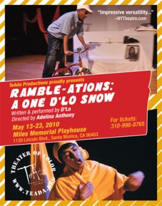 Ramble-Ations: A One D'lo Show