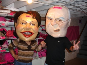 Condi and Dick: Theatrical Public Performances Designed To Get As Much Media Coverage As Possible Were My Speciality