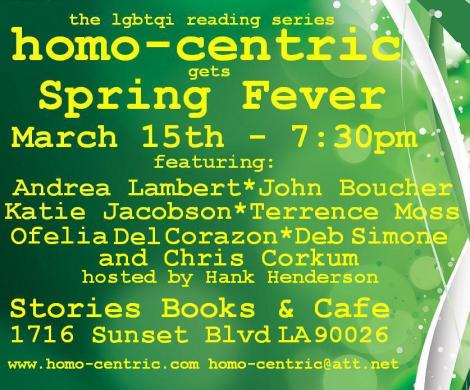 Andrea Lambert, Debra Simone & Ofelia Del Corazon at homo-centric at Stories Books & Cafe
