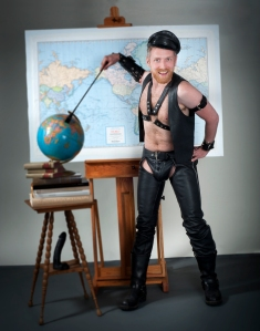 "Ian McKinnon For ""Ian McKinnon's Gay Hist-Orgy"" by Don Tinling Photography"