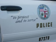 LAPD: to protect and to serve