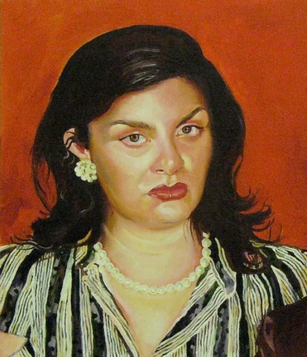 Ofelia del Corazon (partial image) portrait by Alex Moore